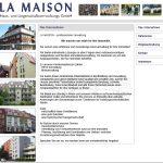 LA MAISON Hausverwaltungs GmbH